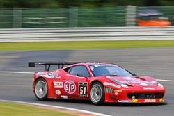 #51 AF Corse Ferrari 458 Italia: Dan Brown, Gaetano Ardagna Perez, Giuseppe Ciro, Toni Vilander