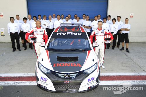 Honda Civic 5P, pruebas