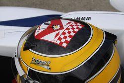 Nick McBride's helmet