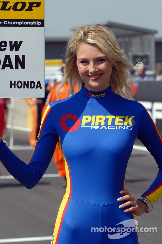 pirtek racing grid girl at s terton