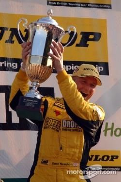 Round 18 Race Winner Dave Newsham