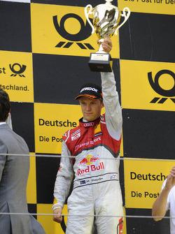 Podium: third place Mattias Ekström, Audi Sport Team Abt Sportsline