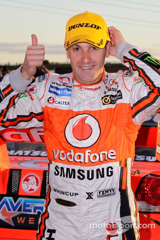 Winner Jamie Whincup, Team Vodafone
