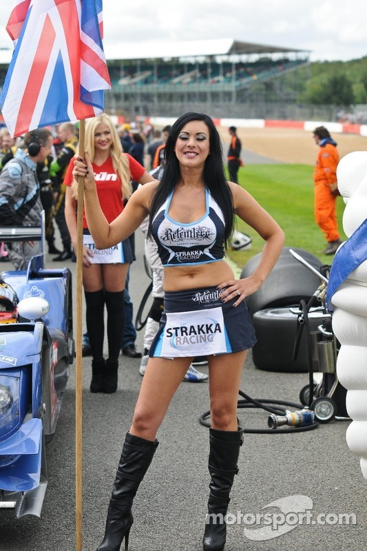 Grid Girl at Silverstone