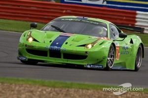 #57 Krohn Racing Ferrari 458 Italia: Tracy Krohn, Nic Jˆnsson, Michele Rugolo