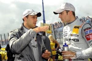 Gary Paffett, Team HWA AMG Mercedes and Jamie Green, Team HWA AMG Mercedes