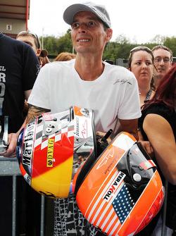 Michael Schumacher, Mercedes AMG F1 fan