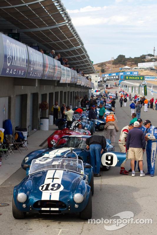 Monterey Motorsports Reunion actie