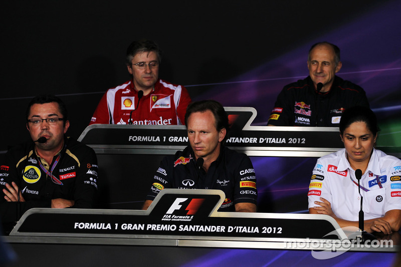 FIA persconferentie: Pat Fry, Ferrari Deputy Technical Director en Head of Race Engineering