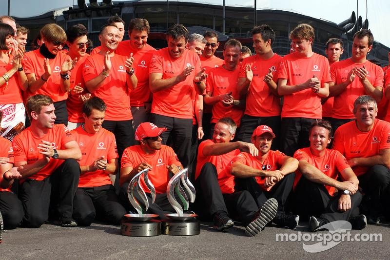 20- Gran Premio de Italia 2012, McLaren