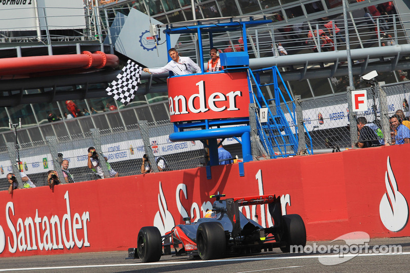 2012. Переможець: Льюіс Хемілтон, McLaren-Mercedes