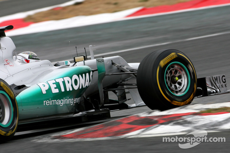 Sam Bird, test driver, Mercedes AMG F1