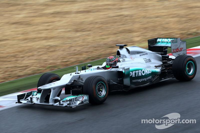 Test met Mercedes