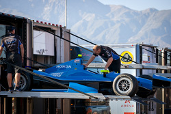Car of Josef Newgarden, Sarah Fisher Hartman Racing Honda
