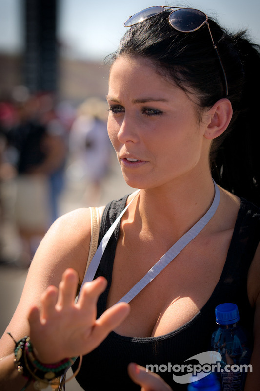 Girlfriend of James Hinchcliffe, Andretti Autosport Chevrolet