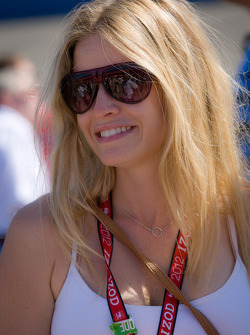 Girlfriend of Oriol Servia, Dreyer & Reinbold Racing Chevrolet
