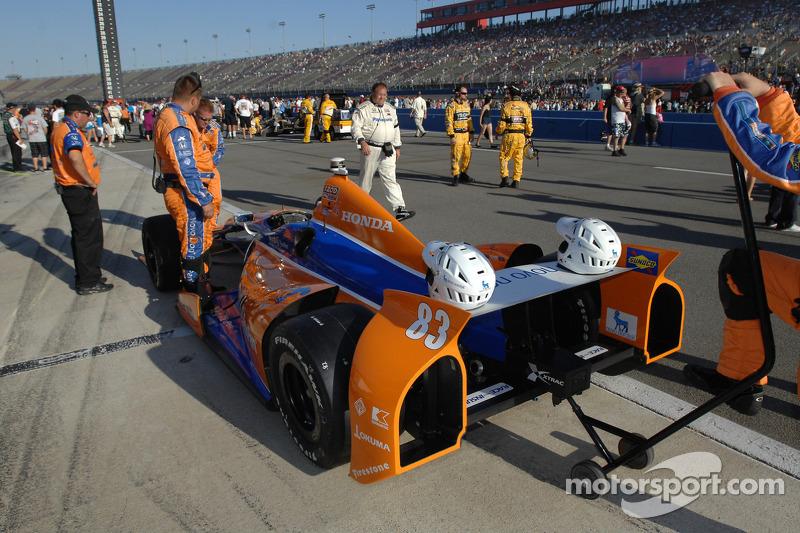 Car of Charlie Kimball, Novo Nordisk Chip Ganassi Racing Honda
