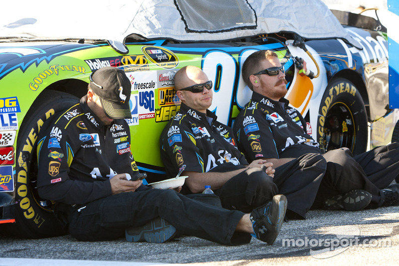 The Roush-Fenway Racing crew