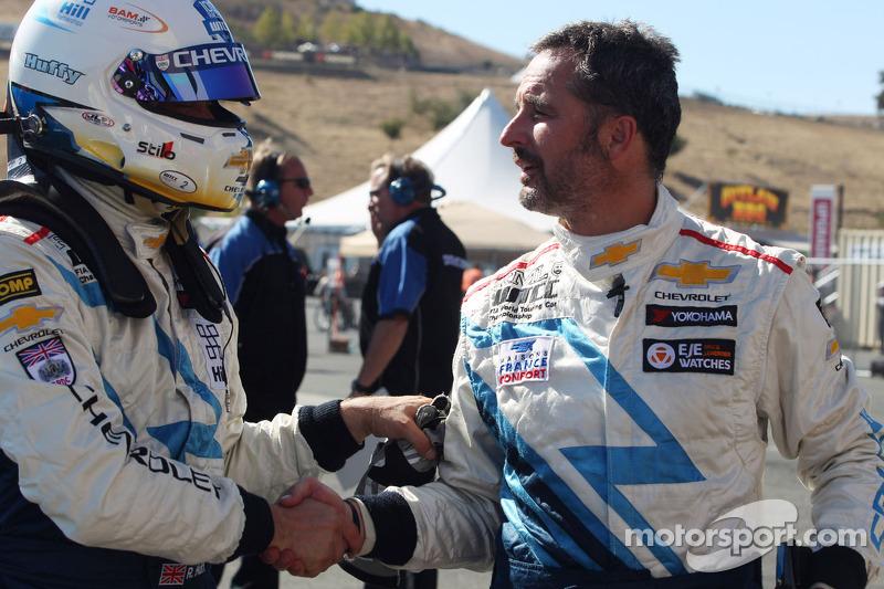 Robert Huff, Chevrolet Cruze 1.6T, Chevrolet en Yvan Muller, Chevrolet Cruze 1.6T, Chevrolet