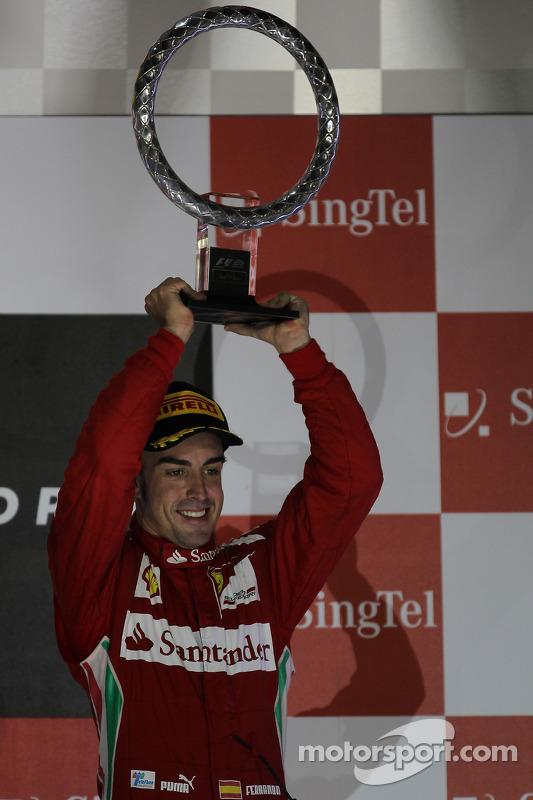 Podium: 3de Fernando Alonso, Scuderia Ferrari
