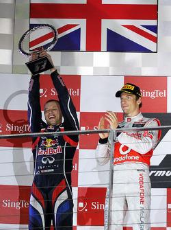 Podium: Ole Schack, Red Bull Racing Mechanic
