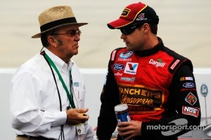 Jack Roush and Ricky Stenhouse Jr.
