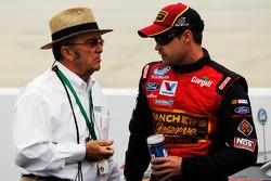 Jack Roush and Ricky Stenhouse Jr.