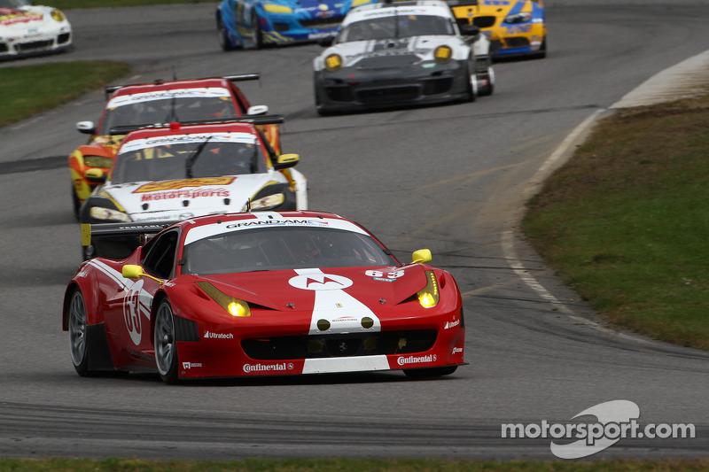# 63 Scuderia Corsa Ferrari 458: Alessandro Balzan, Johannes van Overbeek