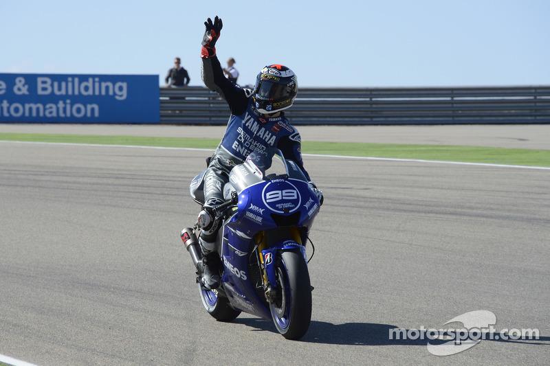 Jorge Lorenzo, Yamaha Factory Racing en Motorland en 2012