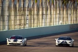 #42 Ferrari of Houston 458TP: Richard Fant, #56 Ferrari of Ft Lauderdale 458CS: Jose Valera