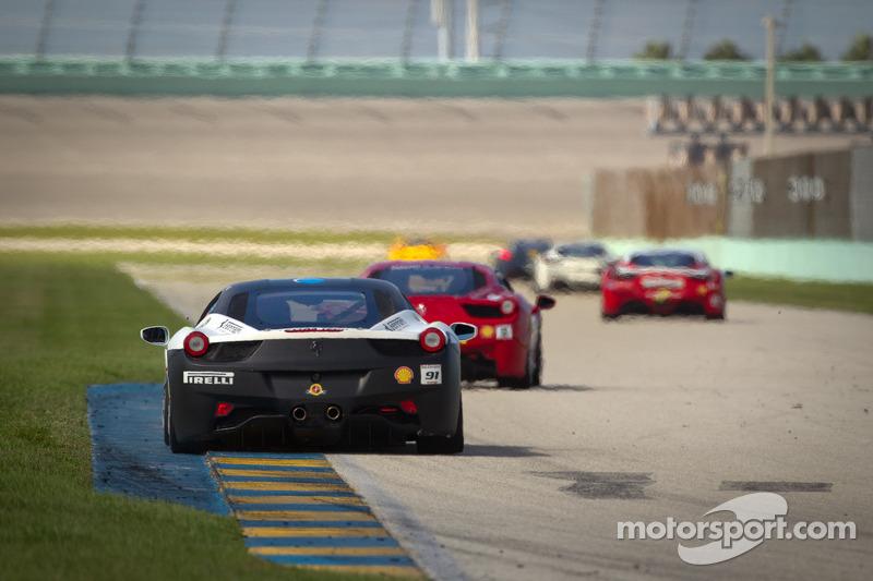 #91 Ferrari of Ft Lauderdale 458CS: Guy Leclerc