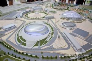 Russian GP track at Sochi