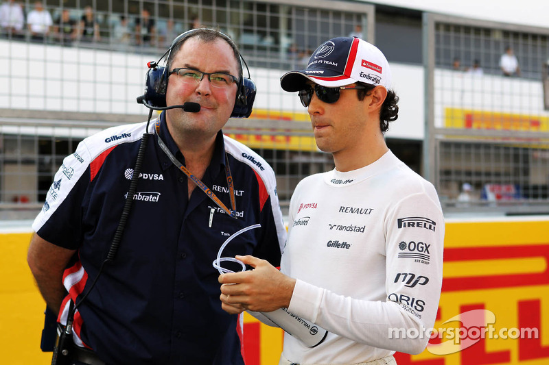 Bruno Senna, Williams on the grid
