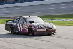 Denny Hamlin, Joe Gibbs Racing Toyota limps back to the pits