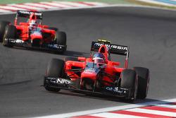 Charles Pic, Marussia F1 Team en Timo Glock, Marussia F1 Team