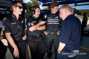 Gunnar Jeannette, Lucas Ordonez and Don Panoz