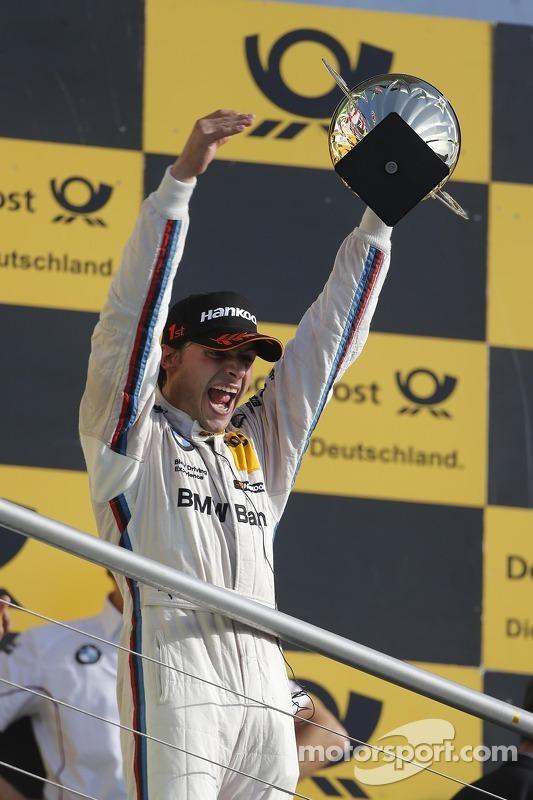 Podium: race winner and 2012 champion Bruno Spengler, BMW Team Schnitzer BMW M3 DTM