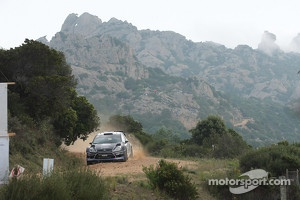 M-Sport Ford in action
