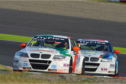 Stefano D'Aste, BMW 320 TC, Wiechers-Sport and Mehdi Bennani, BMW 320 TC, Proteam Racing