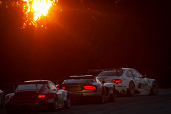 #56 BMW Team RLL E92 BMW M3: Dirk Muller, Uwe Alzen, Jonathan Summerton, #91 SRT Motorsports SRT Viper GTSR: Kuno Wittmer, Dominik Farnbacher, Ryan Hunter-Reay and #44 Flying Lizard Motorsports Porsche 911 GT3 RSR: Seth Neiman, Marco Holzer, Nick Tandy