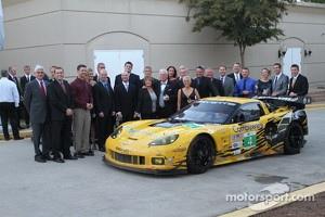 The Corvette Racing team