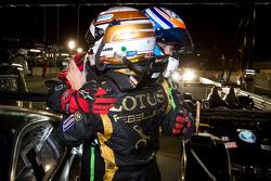 GT class winner Toni Vilander and P1 and overall race winner Neel Jani