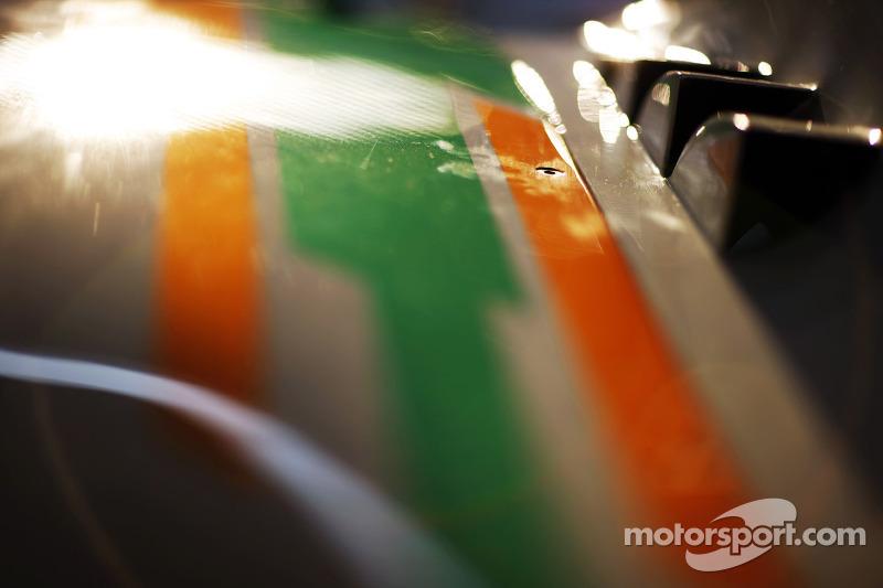 Sahara Force India F1 VJM05 sidepod