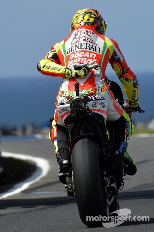 Valentino Rossi, Ducati Marlboro Team at Australian GP
