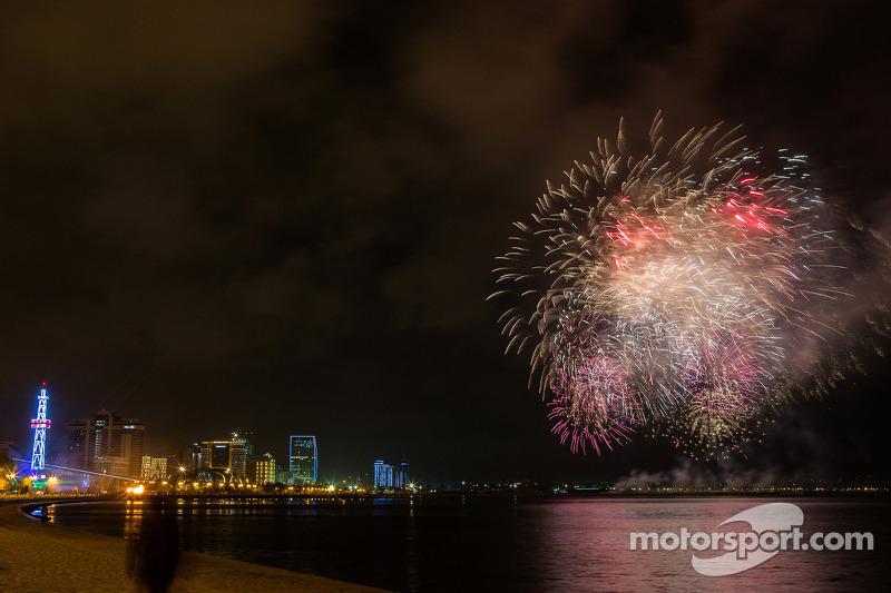 Fireworks at Baku