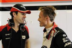 Marc Hynes, Marussia F1 Team Driver Coach with Max Chilton, Marussia F1 Team Test Driver