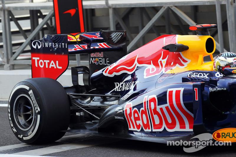 Sebastian Vettel, Red Bull Racing achtervleugel en ophanging