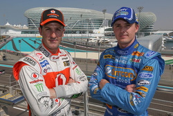 Jamie Whincup and Mark Winterbottom