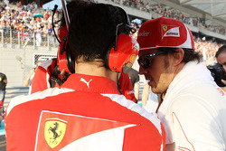Fernando Alonso, Ferrari on the grid
