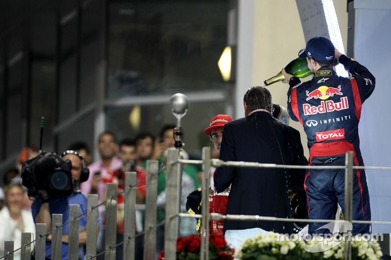 Sebastian Vettel, Red Bull Racing en David Coulthard (GBR)